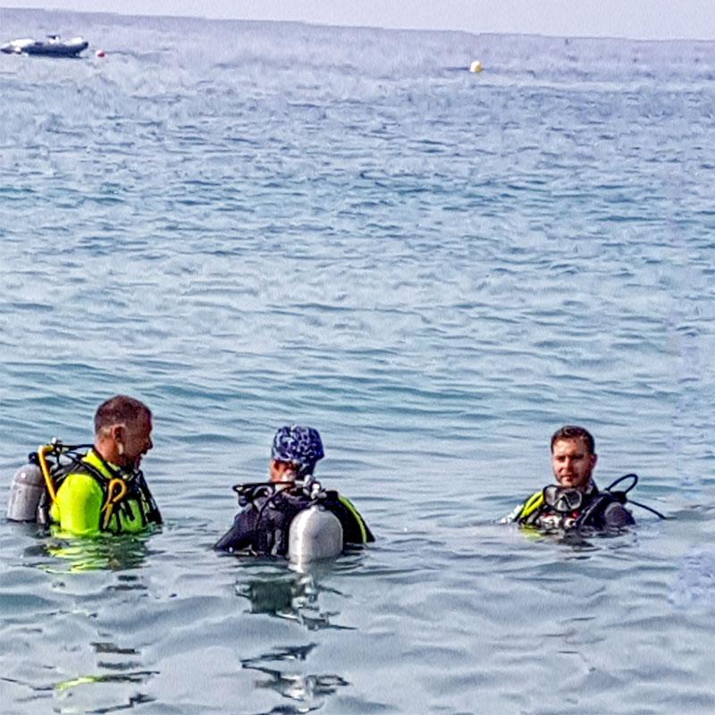 Curso de buceo flotabilidad en Madrid