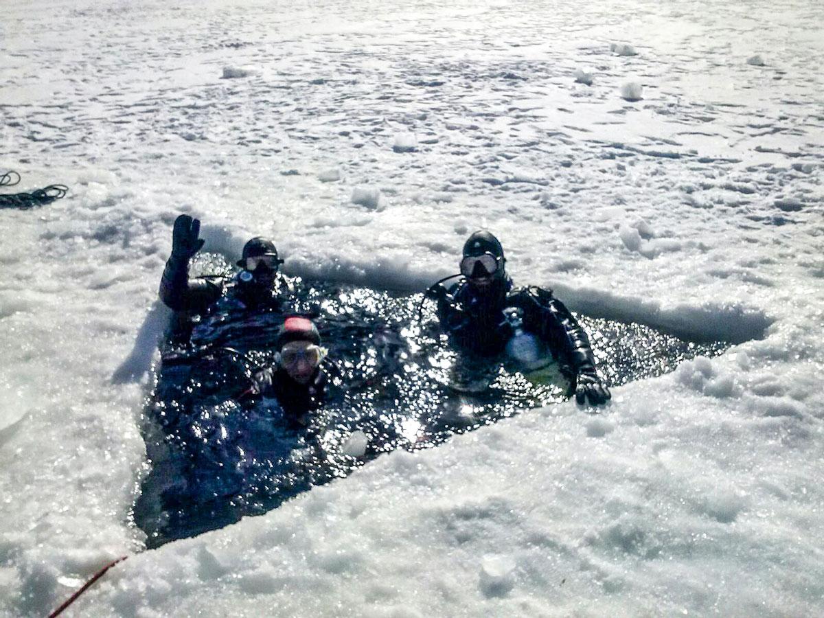 Curso-buceo-bajo-hielo-Ice-Diver-Madrid