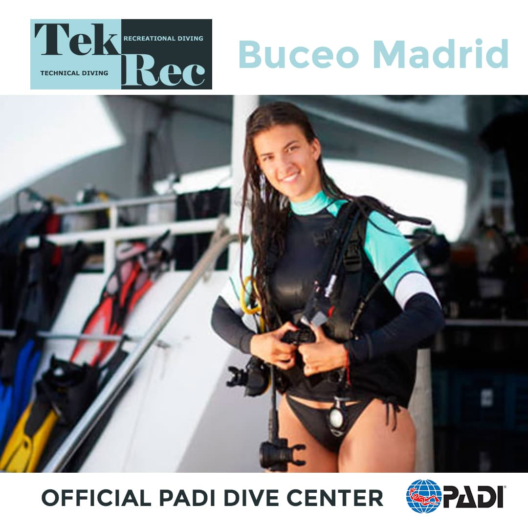 NITROX Enriched Air Diver PADI tekrec